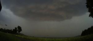 Čtvrteční bouře nad Libereckem