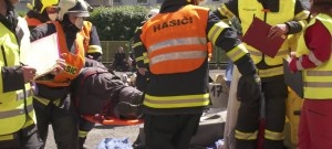 Krajská soutěž hasičů ve vyprošťování zraněných osob