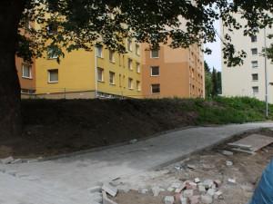 V Jablonci skončila další úprava sídliště na Žižkově Vrchu. Foto: Jablonec nad Nisou