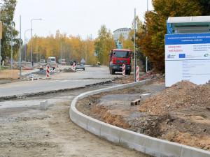 V Dobiášově ulici se začíná rýsovat nový kruhový objezd