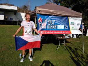 Liberecký hasič Radek Musil skončil šestý na půlmaratonu v Los Angeles.