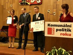 Projekt Rozkvetlý Liberec přinesl Karolíně Hrbkové titul Komunální politik roku.
