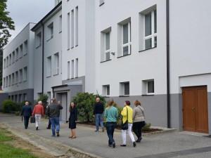 Zateplená budova školy.