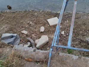 Nalezený dělostřelecký granát
