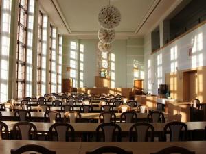 Zasedací sál před rekonstrukcí