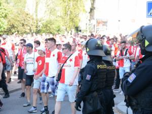 Fanoušci SK Slavia Praha