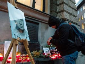 Uctění památky Jana Palacha v Liberci