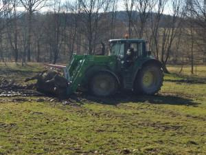 Ukradený traktor