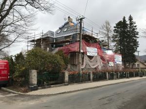 Přestavba na azylový dům.