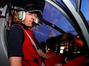 Michal Beneš zahynul při pádu vrtulníku na Náchodsku.
