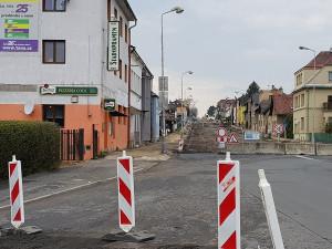 V Turnově porbíhá rozsáhlá rekonstrukce silnice II/610 a Nádražní ulice.