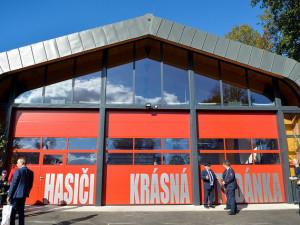 V soutěži Dřevěná stavba roku zabodovala i hasičská zbrojnice Krásná Studánka.
