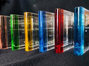 Ceny pro soutěž Kniha roku.