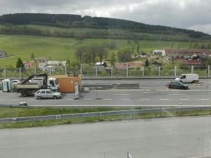 Nehoda u Jeřmanic.