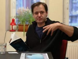 Vojtěch Vaner na čtení z knihy Přátelé od Najsky.