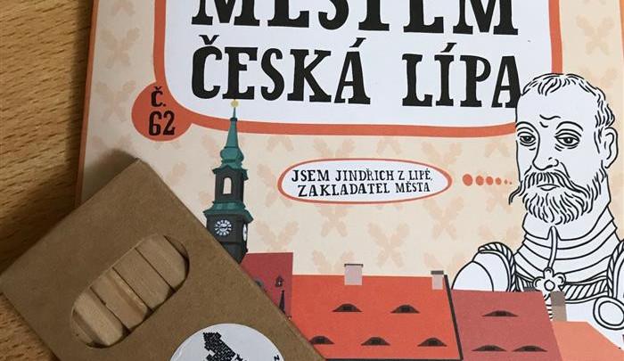 Dětský průvodce zpříjemní malým návštěvníkům procházku po České Lípě