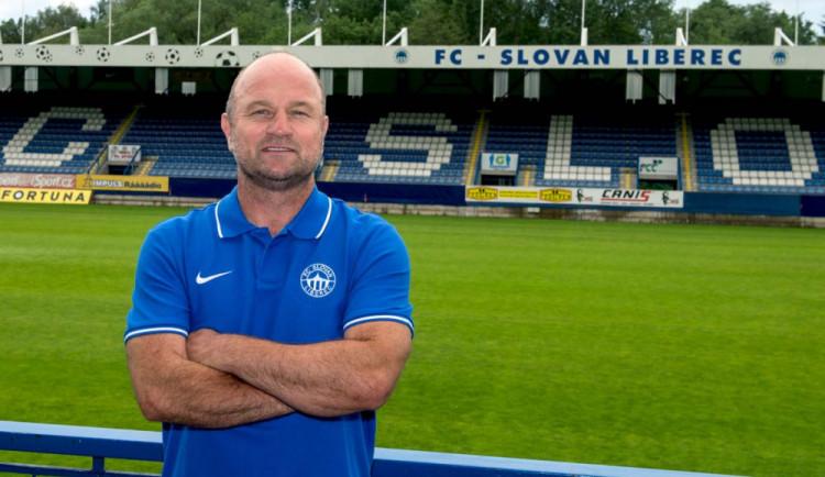 Liberec patří na popředí ligy, říká nový trenér Slovanu Pavel Hoftych
