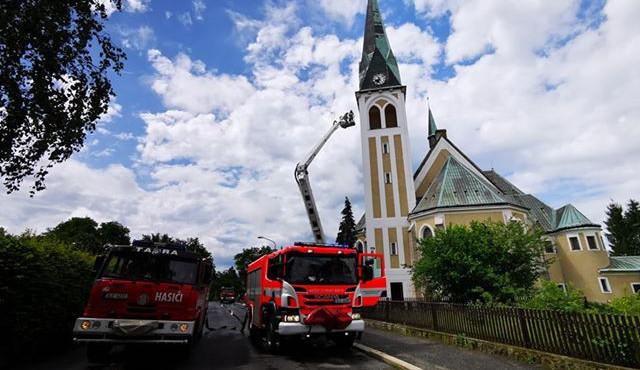 Požár v ruprechtickém kostele objevil náhodou. Šli jsme tam kvůli zvonům, vysvětluje Pavel