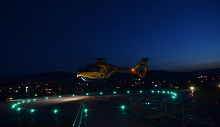 Záchranáři budou moci lítat i v noci, na libereckém letišti bude nový heliport
