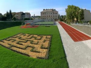 Sportovní areál v Sokolí ulici je jednou ze staveb, která soutěží o Cenu roku.