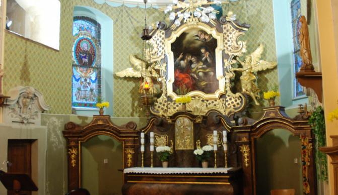Opravený oltář v kostele na Krásné by mohl být Památkou roku