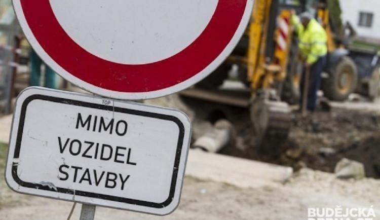 Od včerejšího dne je uzavřená propojka ulic Žitavská a Větrná v Hrádku