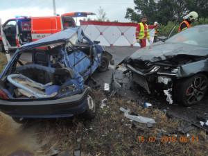 Nehoda na silnici I/13
