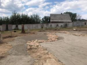 Odhalené základy kostela