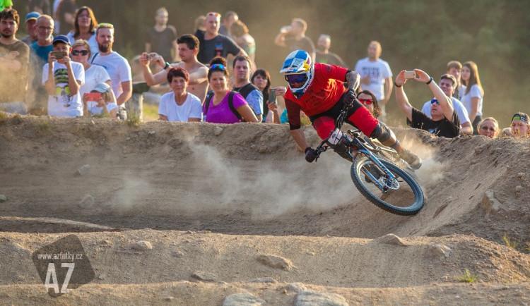 FOTO: Slavík vyhrál závod Světové série fourcrossu v Jablonci i posedmé