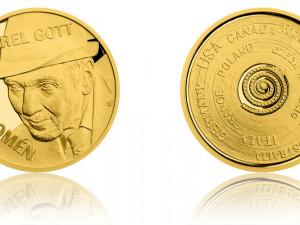 Karel Gott na minci.