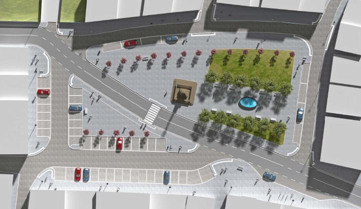Náměstí v Jablonném by se mohlo proměnit. Město chce znát názor občanů