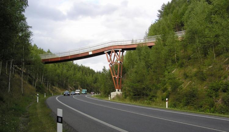 Oprava lávky u Rádla zkomplikuje dopravu na I/65 na Jablonec
