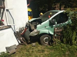 Nehoda v Záskalí.