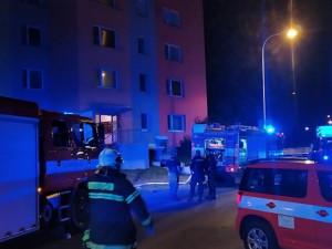 Požár v České Lípě