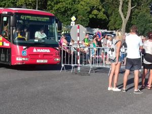 Speciální autobusová linka Benátská odvozila bezmála 30 tisíc návštěvníků festivalu
