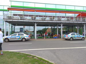 Policie evakuovala Globus