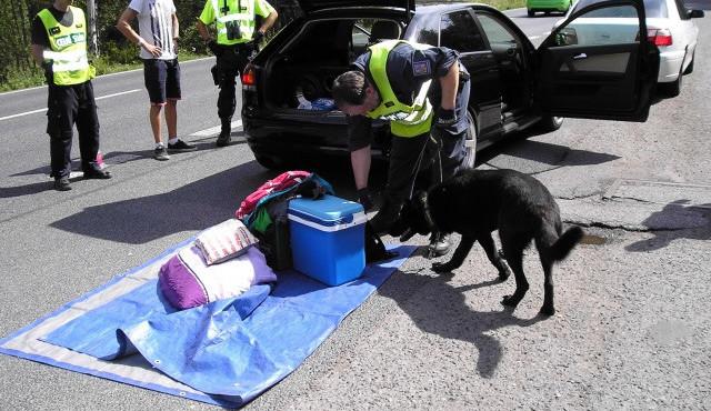 Festival Mácháč skončil. Policisté našli drogy u pětašedesáti lidí, zaměřují se na odjíždějící řidiče