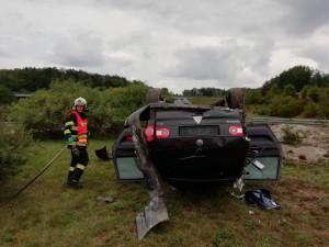 Nehoda na příjezdu do Liberce.