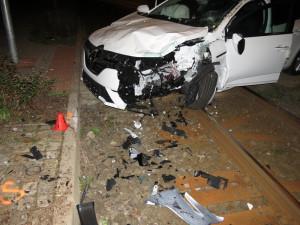 Takhle dopadl vůz, který