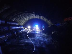Foto z místa zásahu