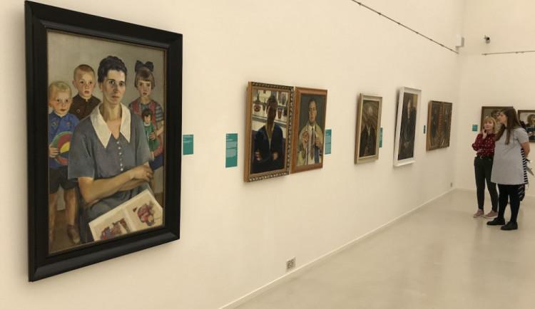 Sedlák a zapomenutý malíř. Galerie vystavuje dílo Paula Gebauera