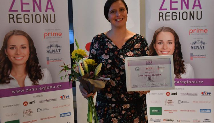 Novou ženou regionu je podnikatelka Kamila Dvořáková, rozhodla o tom veřejnost