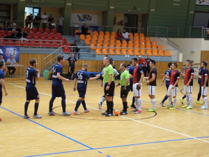 Futsalisté vyhráli v Hodoníně.