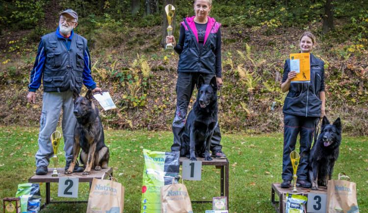 Liberecký pohár zůstává doma. Soutěž psů ovládl ovčák Urgan se Zdeňkou Jislovou
