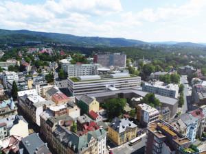 Nový pavilon nemocnice