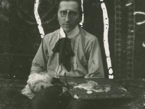 Fotografie Váchala Portrét s paletou.