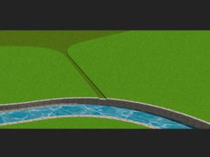 Vizualizace protipovodňového systému v Chrastavě