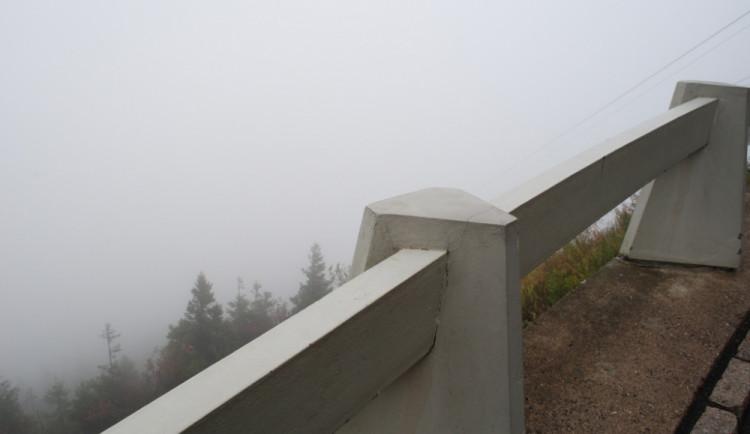 A když přišla mlha, výhled byl takový