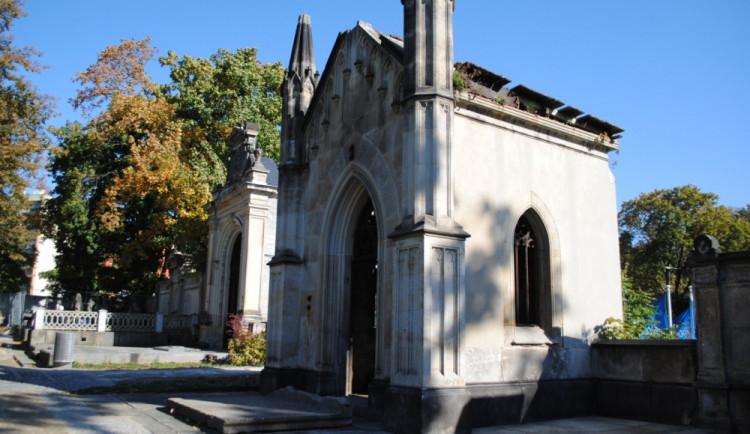 Celkový pohled na hrobku