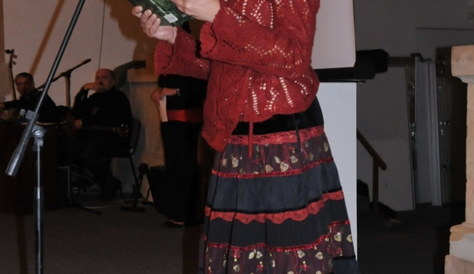 Markéta Tallerová čte z Knihy o Jizerských horách